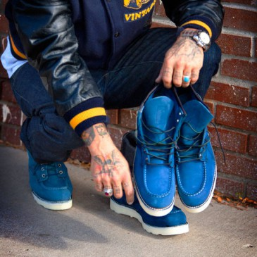 RED WING x GREENWICH VINTAGE «BLUE DECEMBERS»