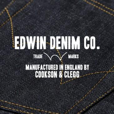EDWIN x COOKSON & CLEGG — MADE IN ENGLAND DENIM