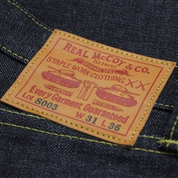 РЕПЛИКА ДЖИНСОВ LEVI'S S501XX ВРЕМЁН WWII — THE REAL MCCOY'S LOT S003