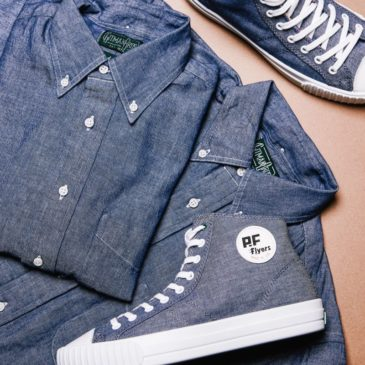 КЕДЫ PF FLYERS x GITMAN BROS. VINTAGE DENIM CENTER HI