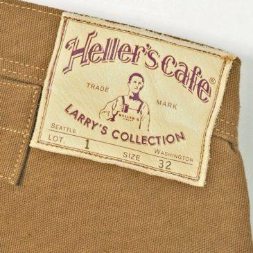 MY DENIM: HELLER'S CAFE HC-1 DUCK  NONPAREIL WAIST OVERALL