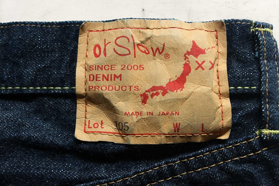 orSlow 105 Standard Selvedge Denim