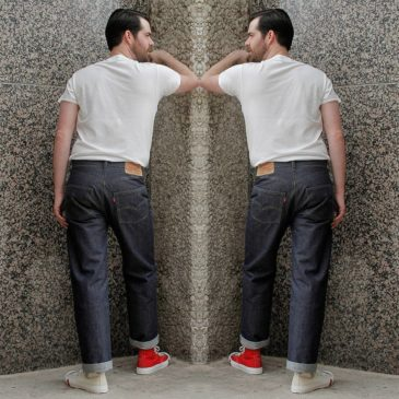 LEVI'S VINTAGE CLOTHING 1976 MIRRORED 501 JEANS