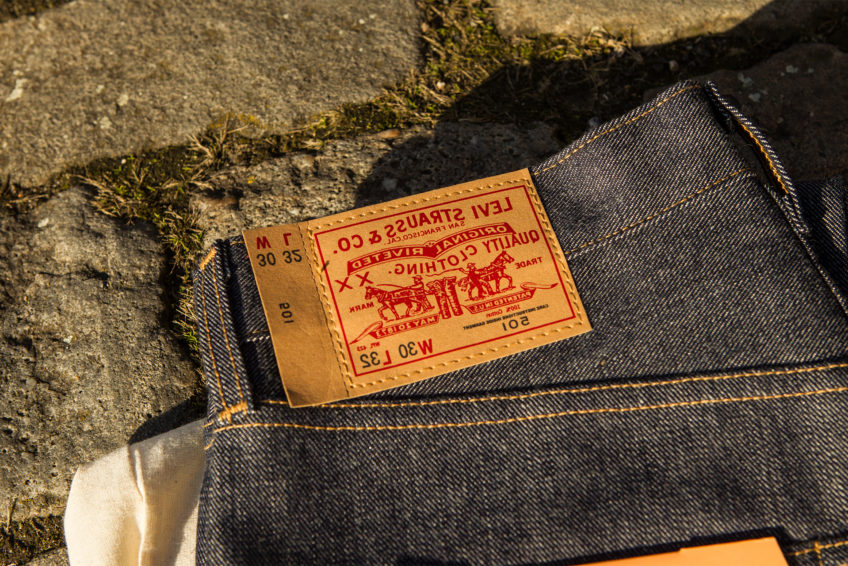 Levi's Vintage Clothing 1976 501 Mirror Jean