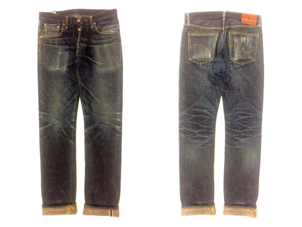 Oni Denim 417XXBE 16.5oz XXBE Denim Tight Straight