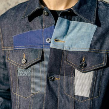 THE CLASS ROOM x 3SIXTEEN PATCHWORK TYPE 3S JACKET