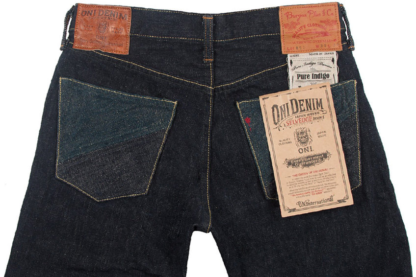 Oni Denim x Burgus Plus ONI-850 15.5oz Natural Indigo Dyed