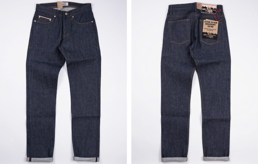 Naked & Famous x Zefear Store 14.5oz Weird Guy Dirty Fade Selvedge